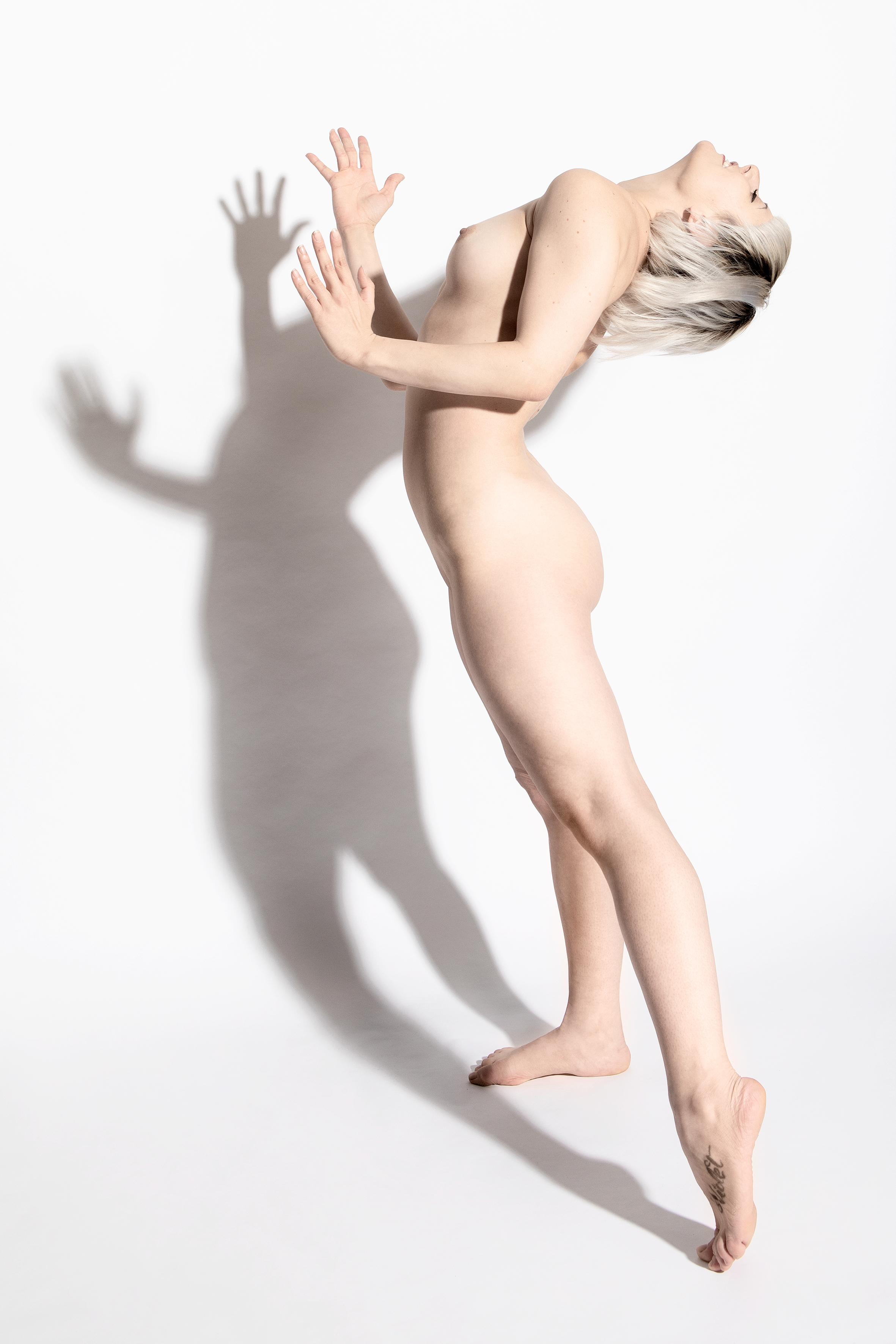Studiodag art-nude met Laura